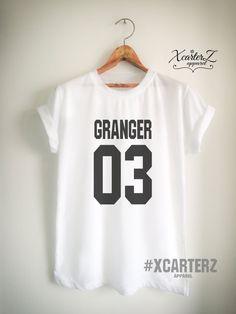 533671a4e Items similar to Granger Shirt Granger T Shirt Potter Shirt Potter T Shirt  Potter Merch for Women Girls Men Unisex Potter Top Tee Jersey ...