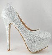 Pantofi TOC 14cm Silver - Incaltaminte Online Shoes, Fashion, Moda, Zapatos, Shoes Outlet, Fashion Styles, Shoe, Footwear, Fashion Illustrations