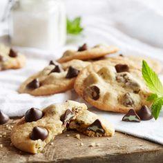 NESTLÉ® TOLL HOUSE® Mint Filled DelightFulls™ Chocolate Chip Cookies Recipe | MyRecipes.com