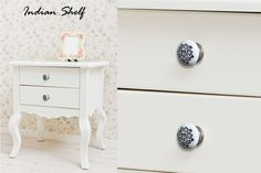 Beautiful decorative knobs in different designs for your home and office furniture by #indianshelf  #doorknobs http://goo.gl/VxcdUp