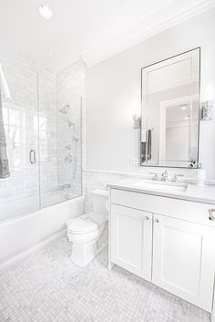 Beautiful bathroom decor tips. Modern Farmhouse, Rustic Modern, Classic, light and airy master bathroom design some a few ideas. Master Bathroom makeover a few some ideas and master bathroom remodel recommendations. Bathroom Renos, Bathroom Flooring, Bathroom Renovations, Dyi Bathroom, Bathroom Tubs, Bathroom Ideas White, Bathroom Hardware, Bathroom Inspo, White Vanity Bathroom