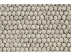 HAY - Peas Teppich - 170 x 240 cm - soft grey - 2 Deco, Dark Grey, Medium, Round Shag Rug, Wool, Handmade Rugs, Floor Covering, Homes, Building Homes