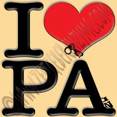"Pain-sylvania is for naughty lovers. Up close ""I [heart] PA"" actually reads ""I love PAin"". http://www.cafepress.com/thenaughtynook/9991087"