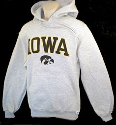 Ash Gray  Classic Iowa Hood by Russell�