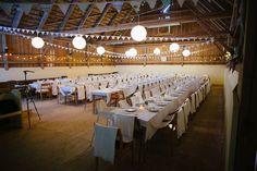 Bröllopsfoto Backa Loge - miljöbild dukning dekorationer