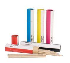 Tubo lápices colores Pantone La casa de los Roper: Regalos de diseño y objetos para la casa.