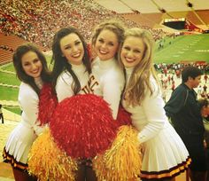 USC Song Girls 2013 University Of Los Angeles, University Of Southern California, Usc Trojans, Play To Learn, Sport Girl, Cheer, Songs, Lady, Pretty