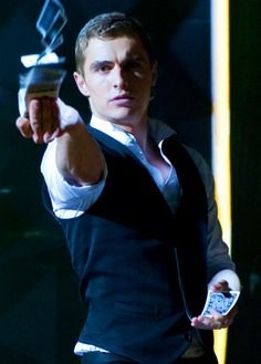 Dave Franco as sexy magician Jack Wilder from Now You See Me