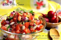 Mexico in my Kitchen: Xnipec Salsa |Authentic Mexican Recipes Traditional Food Blog
