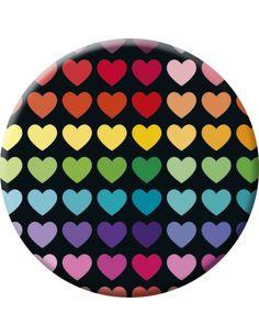 "Lali badge (45 mm) ""Love story"""