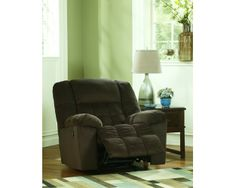 Lowell - Chocolate Rocker Recliner by Signature Design by Ashley Parks Furniture, Nebraska Furniture Mart, Accent Chairs, Household, Living Room, Bedroom, Signature Design, Chocolate, Recliners