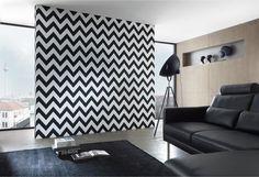 Vă recomandăm să combinați un perete cu tapet cu trei pereți zugraviți. Combinația este specială și foarte frumoasă, oferind o imagine complexă, inovatoare și modernă.  Tapet Joy