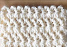 かぎ編みの模様編み 3 可愛いスタークロッシェのような模様 How to Crochet