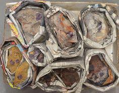 10 Pc Beautiful Cubed Purple Fluorite Crystal Specimen Flat Mapimi Durango Mex
