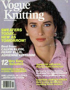 Vogue Knitting Spring - Summer 1985