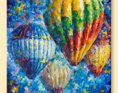 Balloon Reflections Limited Edition Colorful von AfremovArtStudio
