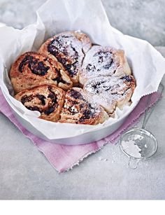 Chocolate and Pistachio Boston Rolls - Sweet Paul Magazine - Spring 2013 - Page 92-93