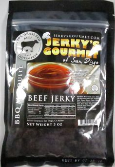 Discover how Jerky's Gourmet of San Diego – BBQ Mesquite 100% grass-fed beef jerky fared in a jerky review. http://jerkyingredients.com/2015/11/14/jerkys-gourmet-of-san-diego-bbq-mesquite-beef-jerky/ @JerkysGourmet #JerkysGourmet #JerkysGourmetofSanDiego #beefjerky #review #food #jerky #ingredients #jerkyingredients #jerkyreview #beef #paleo #paleofood #snack #protein #snackfood #foodreview #grassfedbeef #grassfed #barbecue #bbq #mesquite #bbqmesquite