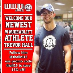 """Welcome our newest #wwjdeadlift athlete @thallnl13! We've been really excited about having people reach out to us to be part of our vision and really…"""
