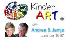 KinderArt with Andrea and Jantje. We make teaching art easier.
