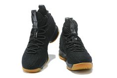 brand new ec09f 231ab 2018 Nike Shoes LeBron James 15 XV Black Gum