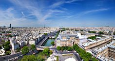 Beautiful Panorama of Paris- by http://www.bondarisilviuphotography.com/