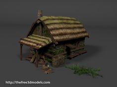 http://tf3dm.com/3d-model/medieval-hut-41472.html