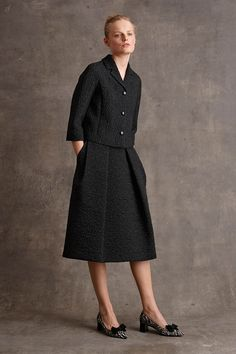 Michael Kors Pre-Fall 2015 Runway – Vogue  saias com pregas largas