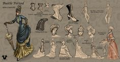 Historical Victorian Clothing