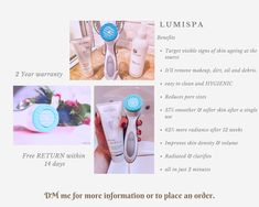 This Beauty devices, help the skin feeling and looking clean, fresh and younger. Reduce Pore Size, Makeup Remover, Cleaning, Fresh, Beauty, Products, Beleza