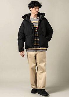 Japan Men Fashion, Mens Fashion, Rain Jacket, Windbreaker, Jackets, Moda Masculina, Down Jackets, Man Fashion, Fashion Men