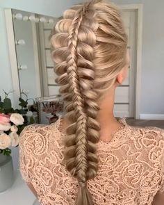 Box Braids Hairstyles, Hairstyles Haircuts, Cool Hairstyles, Easy Hairstyle, Long Braided Hairstyles, Female Hairstyles, Braided Hairstyles Tutorials, Style Hairstyle, Medium Hairstyles