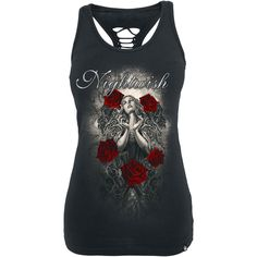 Rose Angel - Girls top van Nightwish - Artikelnummer: 285828 - vanaf 24,99 € - Large Popmerchandising