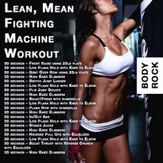 Lean, Mean Fighting Machine Workout