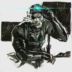 Metal Gear Solid V: Ground Zeroes by KR0NPR1NZ.deviantart.com on @deviantART