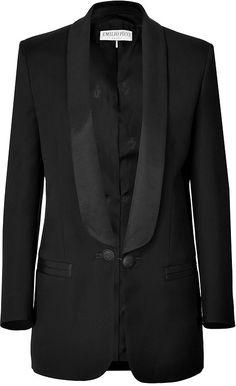 Emilio Pucci Wool-Silk Tuxedo Blazer on shopstyle.com.au