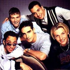 backstreet boys... these guys bring back fond memories of the 90s :)