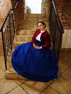 1860s zouave jacket and garibaldi blouse
