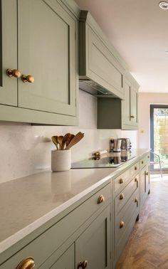 Kitchen Room Design, Kitchen Redo, Home Decor Kitchen, Interior Design Kitchen, Kitchen Living, New Kitchen, Home Kitchens, Kitchen Remodel, Cheap Kitchen