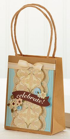 Celebrate Gift Bag by @Kalyn Kepner