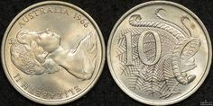 Take a closer look at the 1966 10 cent with varying degrees of upset or rotation, this variety is very uncommon to find. Australian Money, Sell Coins, Valuable Coins, Two Dollars, Gold And Silver Coins, Error Coins, Dollar Coin, Rare Coins, Coin Collecting