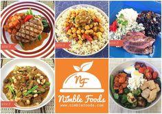 www.nimblefoods.com  We got dinner covered! Order from 5-9PM  Today's Dinner Menu:  1. Grilled Pork Loin (GF) 2. Moroccan Chickpea Stew (DF Vegan) 3. Steak Chimichurri (GF) 4. Cassoulet (DF) 5. Chicken & Fall Vegetables (GF)  #nimblefoods #foodstagram #fooddelivery #mealdelivery #austin #atx #austinmealdelivery #austinfooddelivery #nomnom #instafood #foodpic #food #foodart #foodie #dinner #fresh #ingredients #salad #protein #vegetarian #healthy #eating #freedelivery #cooking #feedme #atxeats…
