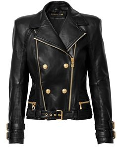 edf73d7b All 109 Pieces From Balmain x H&M Collaboration. H&m CollaborationGold  JacketBlack Biker ...