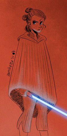 Little sketch of Rey