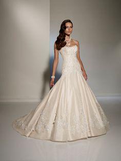 View Dress - Sophia Tolli SPRING 2012 Collection - Y11217 Mirella - Taffeta and Tulle; corset back only | SophiaTolliByMonCheri Bridal | Bridal Shops Toronto Wedding | Evening Dresses Bridal Gowns