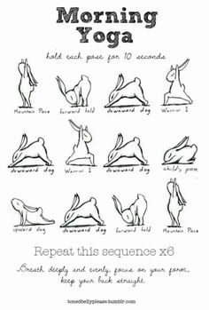 morning yoga - LoVe this ...
