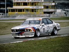 BMW 635 CSi DTM - 1984 | MotorSport Cars - Blog de coches de competición