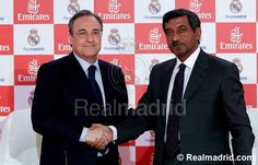 Real Madrid acuerdo con Emirates y camiseta 2013/14. Real Madrid unveiled the deal with Emirates and the 2013/14 kit. Vía: Real Madrid C.F.