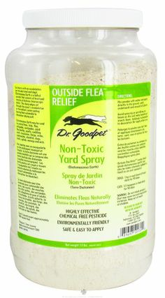 Dr. Goodpet   Outside Flea Relief Non Toxic Yard Spray   1.5 Lbs.