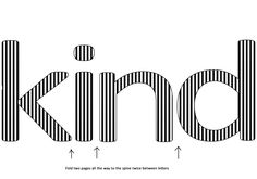 Genius method explaining book word art